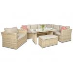 Set mobilier de gradina PREMIUM Moniz Plus Bej