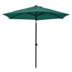 Umbrela gradina, California, D.270, negru/turcoaz