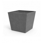 Ghiveci Beton Square 48 cm, Keter, gri-inchis
