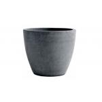 Ghiveci Beton planter round XL, Keter, L 53 cm, gri