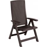 Set 2 scaune teresa, Montreal Keter, maro