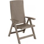 Set 2 scaune teresa, Montreal Keter, capuccino