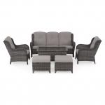 Set mobilier de terasa, Belham, maro/bej