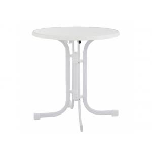 Masa Dine&Relax 70 cm marble/alb Patio