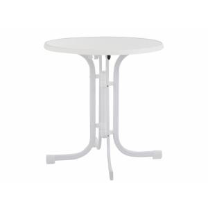 Masa Dine&Relax 80 cm marble/alb Patio