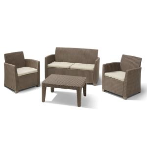 Set mobilier de gradina Corona Cappuccino