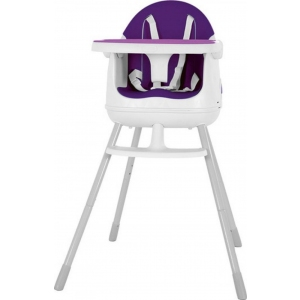 Scaun de masa pentru bebelusi Keter Multi Dine, reglabil 6 luni - 5 ani, mov
