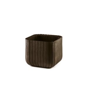 Ghiveci Cube Planter M Maro-Auriu