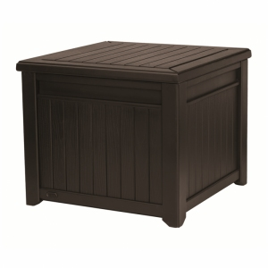 Cutie depozitare tip masuta, Cube Wood 208L, maro