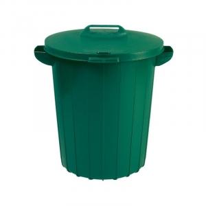 Cos de gunoi exterior, Refuse 90L Keter, verde