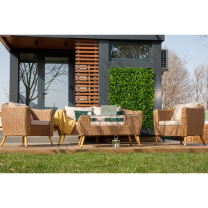 Set mobilier premium de terasa, Vienna, ratan sintetic