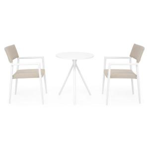 Set mobilier terasa Elvas/Soria, 2 scaune si masa