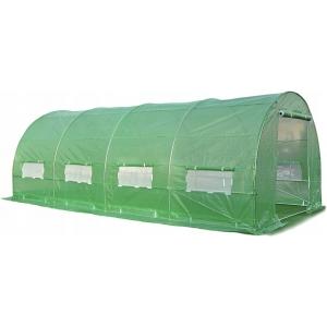 Solar/ sera gradina cu schelet metalic 6 x 3 m, verde