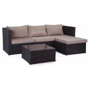 Set mobilier gradina Farlito PREMIUM Maro/ Latte