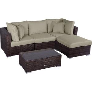 Set mobilier Nilamito PREMIUM V Maro/ Bej