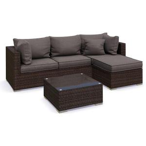 Set mobilier Nilamito PREMIUM V Maro/ Gri