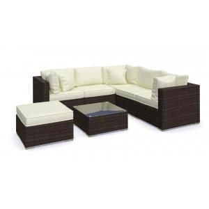 Set mobilier Nilamito PREMIUM IX Maro/ Ocru