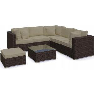 Set mobilier Nilamito PREMIUM IX Maro/ Bej