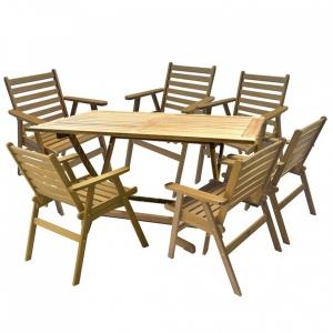 Set mobilier de gradina Narrow 6 persoane