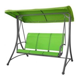 Balansoar suspendat cu umbrela Berlin GD Verde