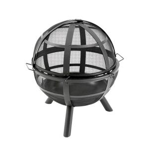 Semineu pentru terasa Ball on Fire Negru