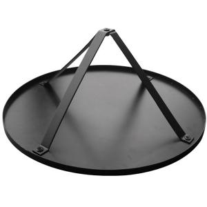 Semineu pentru terasa Fire Basket Negru/ Argintiu