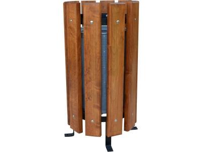 Cos de gunoi vertical pentru parcuri 60