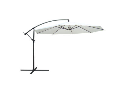 Umbrela cadru din aluminiu Sunny 3M Alb/ Negru
