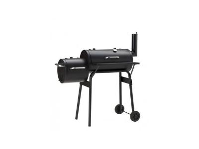 Gratar pe carbuni cu afumatoare American BBQ Negru