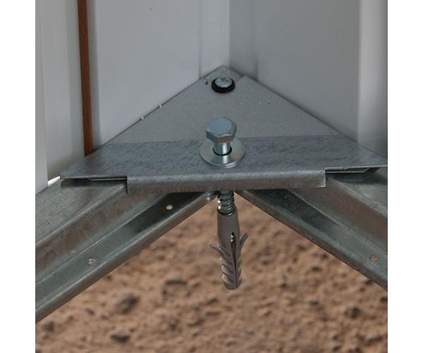 Casuta de gradina metalica YardMaster 67AEYZ 2x2 Antracit