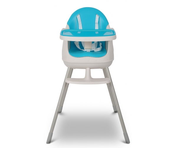 Scaun de masa pentru bebelusi Keter Multi Dine, reglabil 6 luni - 5 ani, albastru