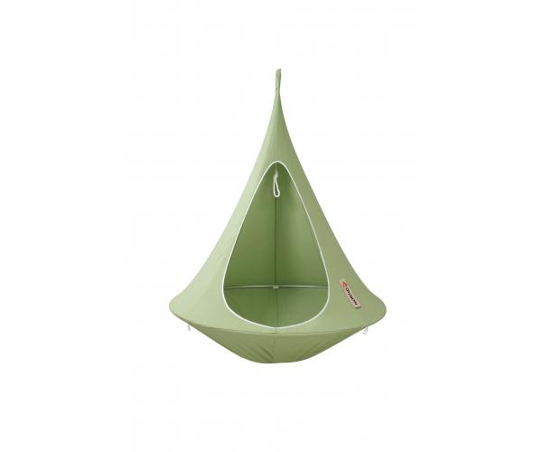 Leagan/ Hamac Cocon suspendabil pentru gradina, verde