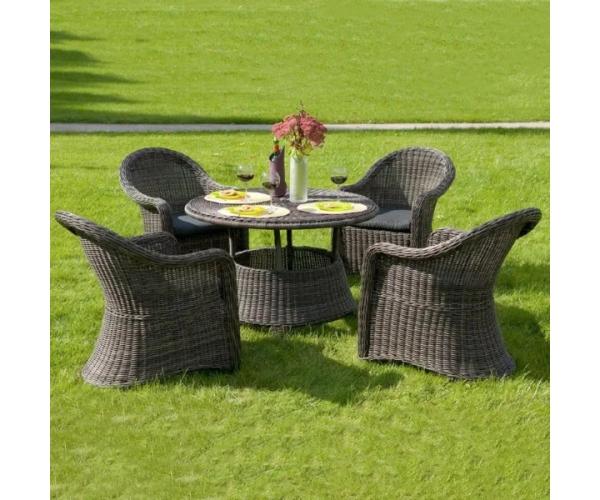 Set mobilier de gradina, Hawana, cappucino