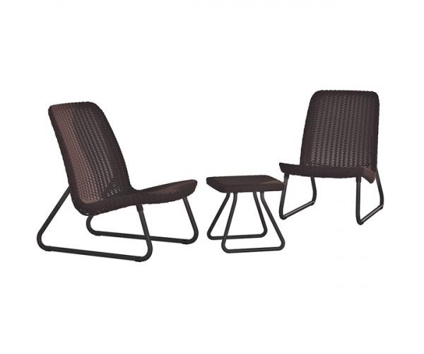 Set mobilier gradina Rio patio set - Maro/Auriu
