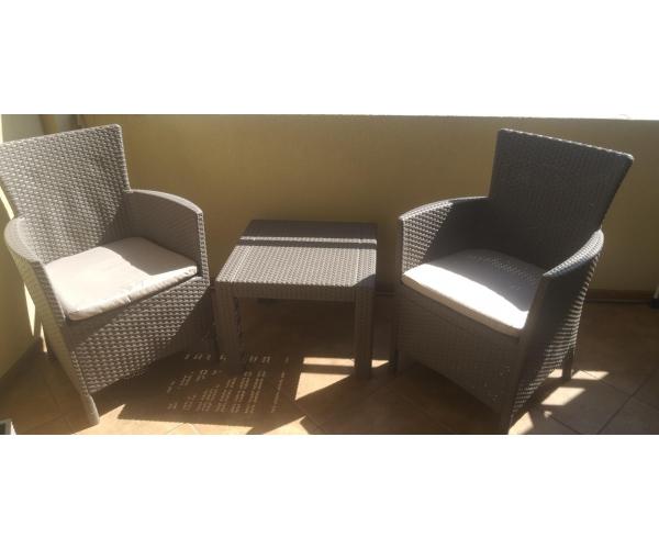 Set mobilier de balcon, Rosario Balcony, cappuccino