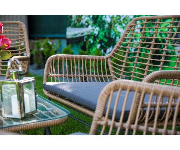 Set mobilier de terasa, Malena, ratan sintetic