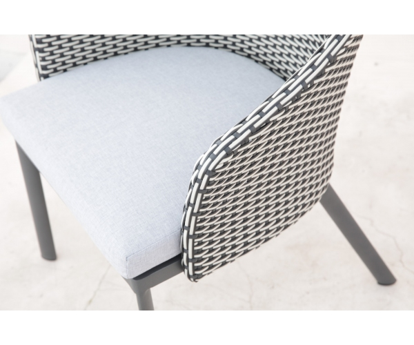 Set mobilier de terasa, Rodos, gri