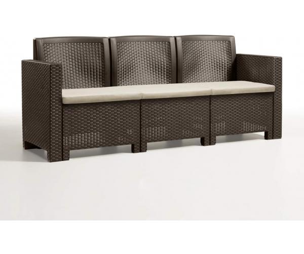 Set mobilier de gradina, Alabama 3, maro