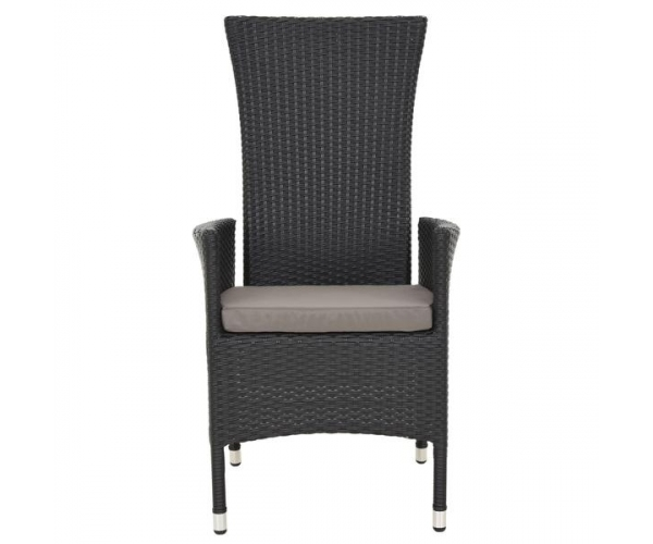 Set mobilier terasa/gradina Encore, masa si 4 scaune cu spatar reglabil