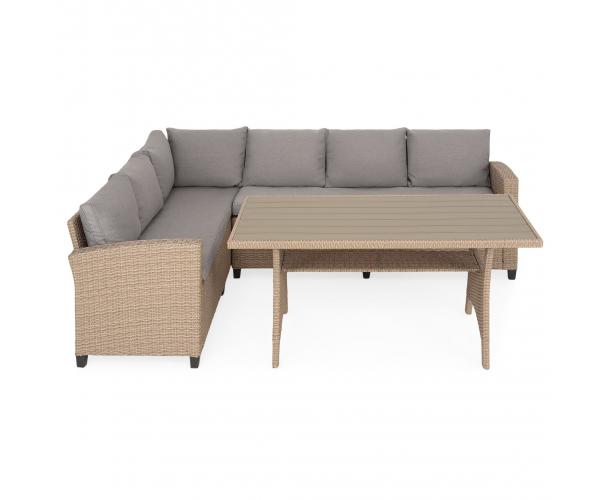 Set mobilier terasa/gradina, Baxter, coltar 3 piese