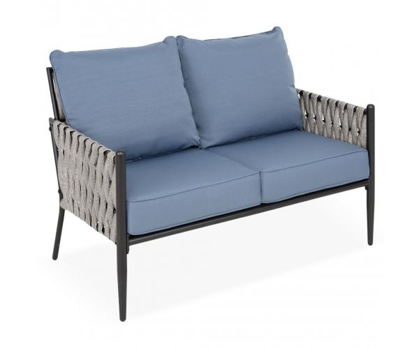 Set mobilier gradina/terasa, Dockview, 2 fotolii, canapea si masuta