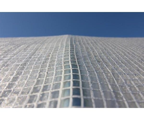 Solar/ sera gradina cu schelet metalic, 6 x 3 m, alb