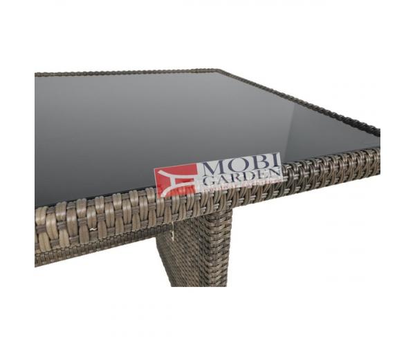 Set mobilier gradina PREMIUM ratan sintetic Stelvio Maro
