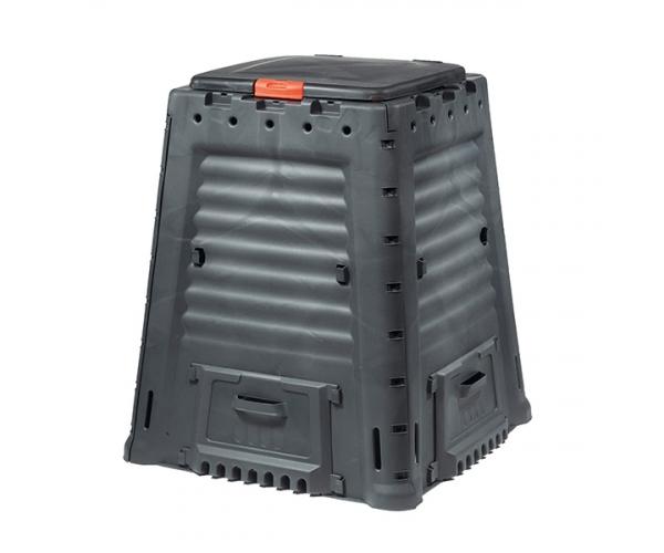 Mega Compostor gradina - 650L - Negru