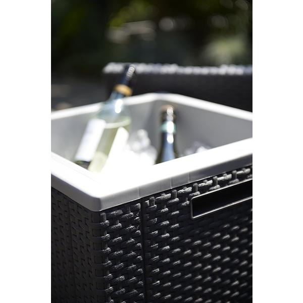 Lada frigorifica Ice Cube grafit