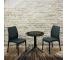 Set mic mobilier de terasa cu masuta mozaic - Chelsea Grafit